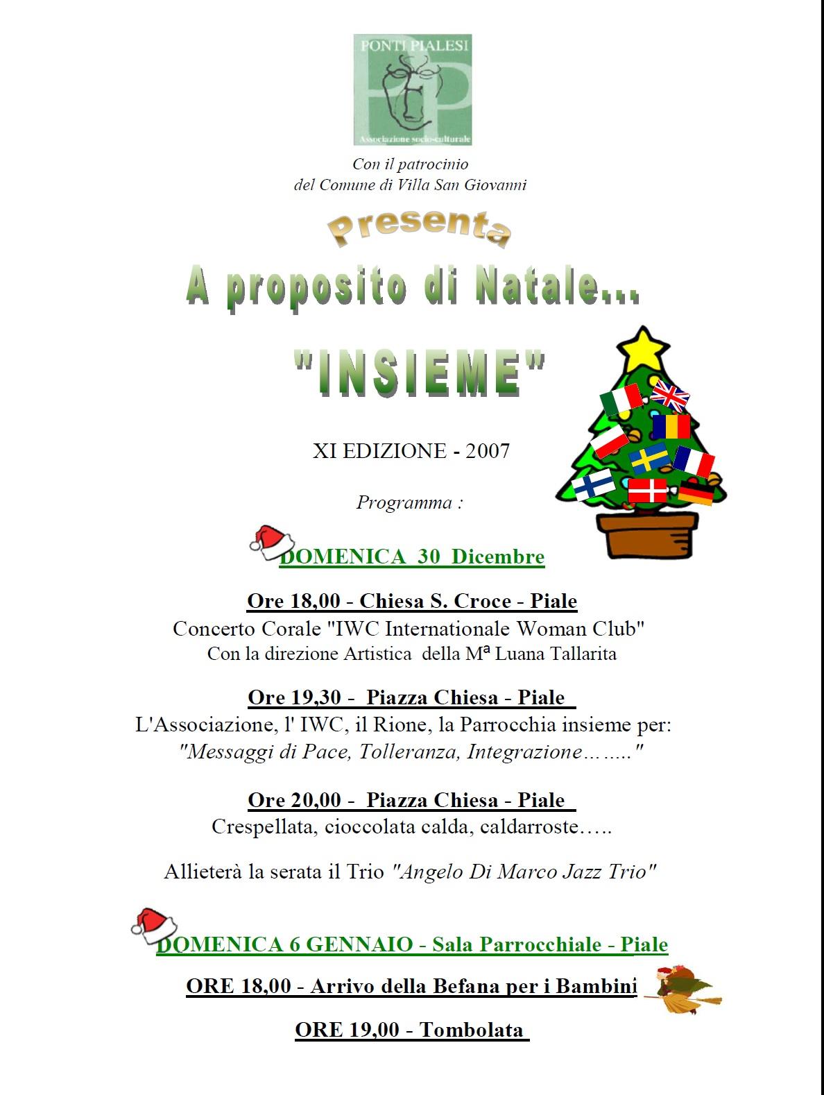 locandina A Proposito di... Natale  2007