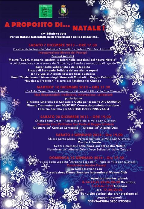 Ponti Pialesi - Programma A Proposito di Natale 2013