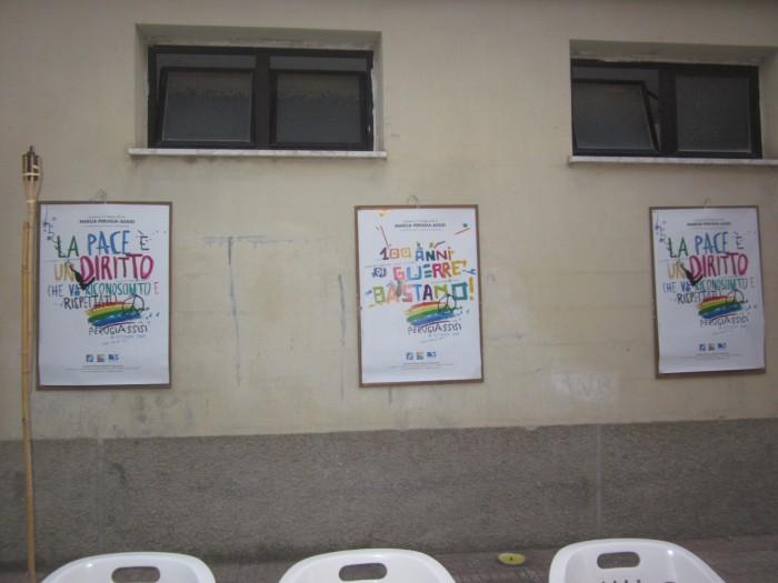 Ponti Pialesi - Cena dei Rioni 2014 - Adesione alla Marcia della Pace PerugiAssisi