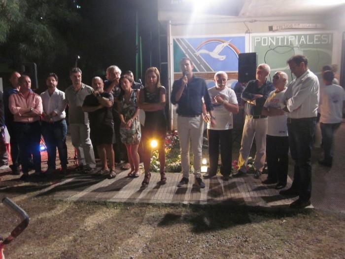 """Ponti Pialesi - Cena dei Rioni 2014 """"Compagni di Strada"""""""