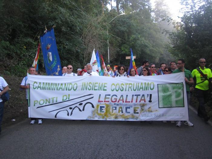 PONTI PIALESI ALLA MARCIA PERUGIASSISI 2014