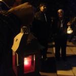 PONTI PIALESI - ACCOGGLIENZA LUCE DELLA PACE 2015 - La luce portata dal Masci di Villa San Giovanni arriva a Piale