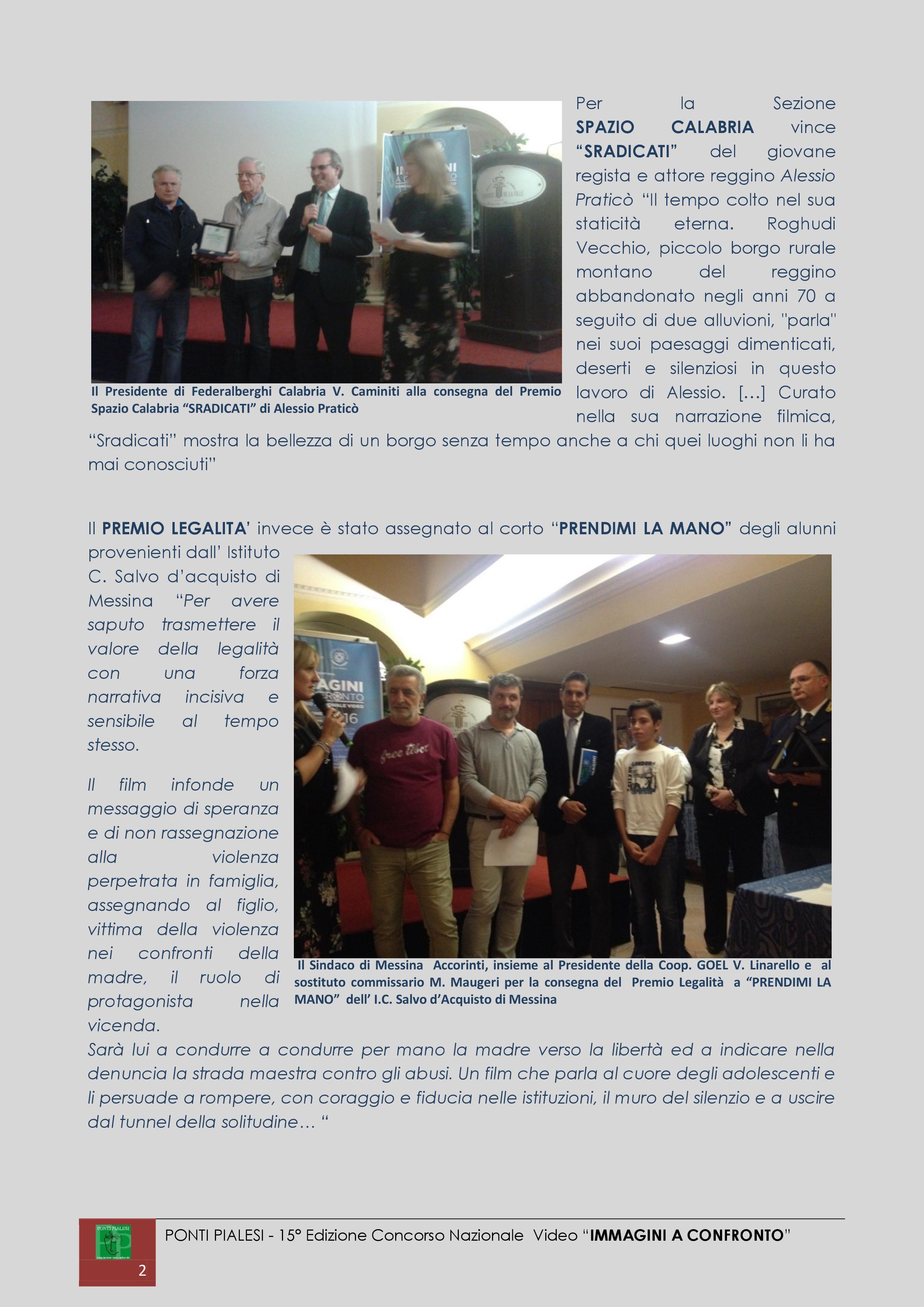 IMMAGINI A CONFRONTO 2016 - 15a Edizione - Resoconto finale (2)