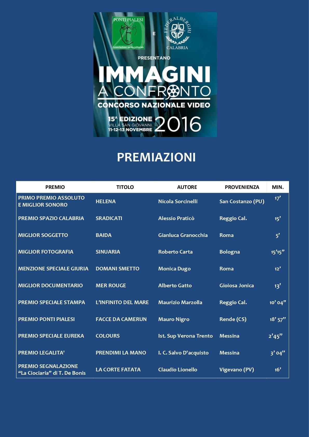 PONTI PIALESI - 15a Edizione IMMAGINI A CONFRONTO 2016 - PREMIAZIONI (1)