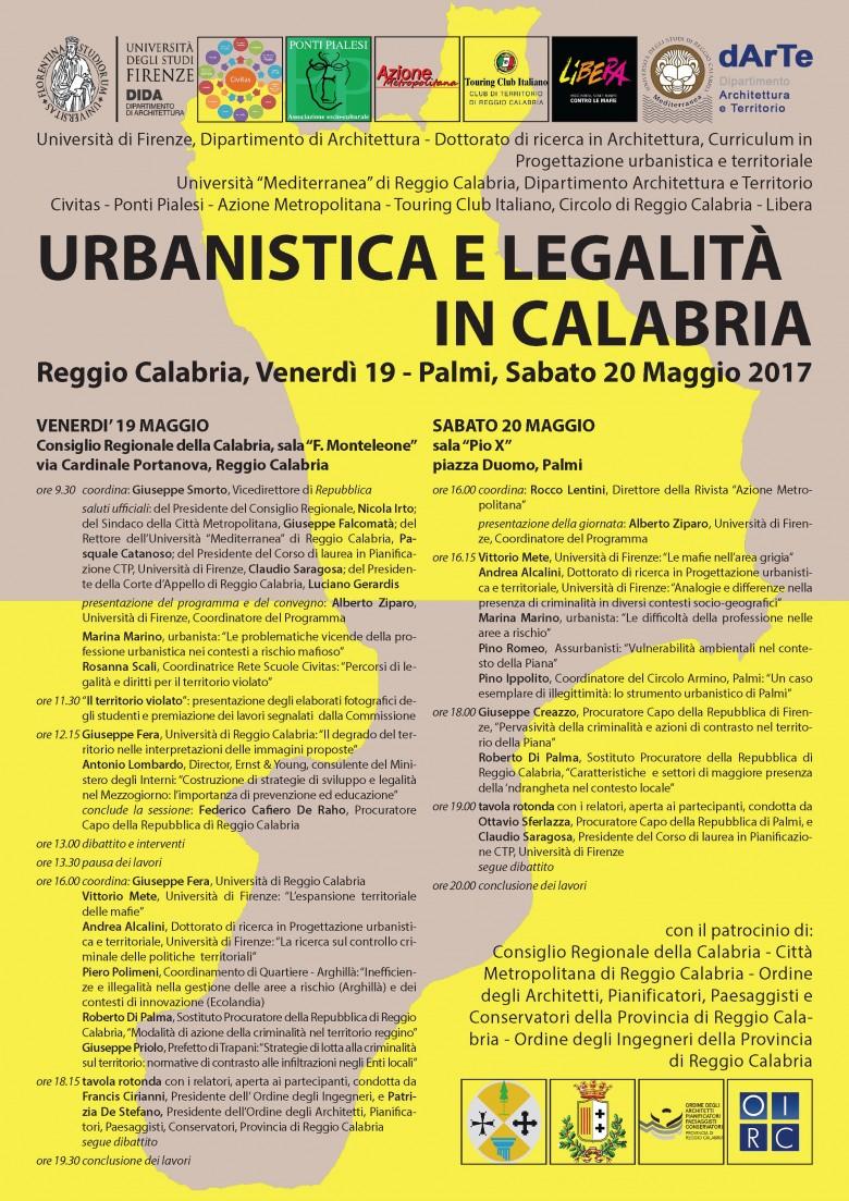 URBANISTICA E LEGALITA' IN CALABRIA - PONTI PIALESI