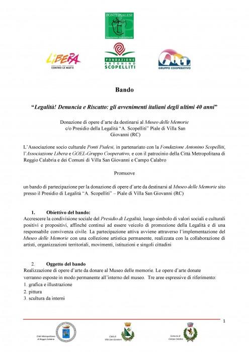 Ponti Pialesi bando-legalita-riscatto-e-denuncia-gli-avvenimenti-italiani-degli-ultimi-40-anni-pag-1