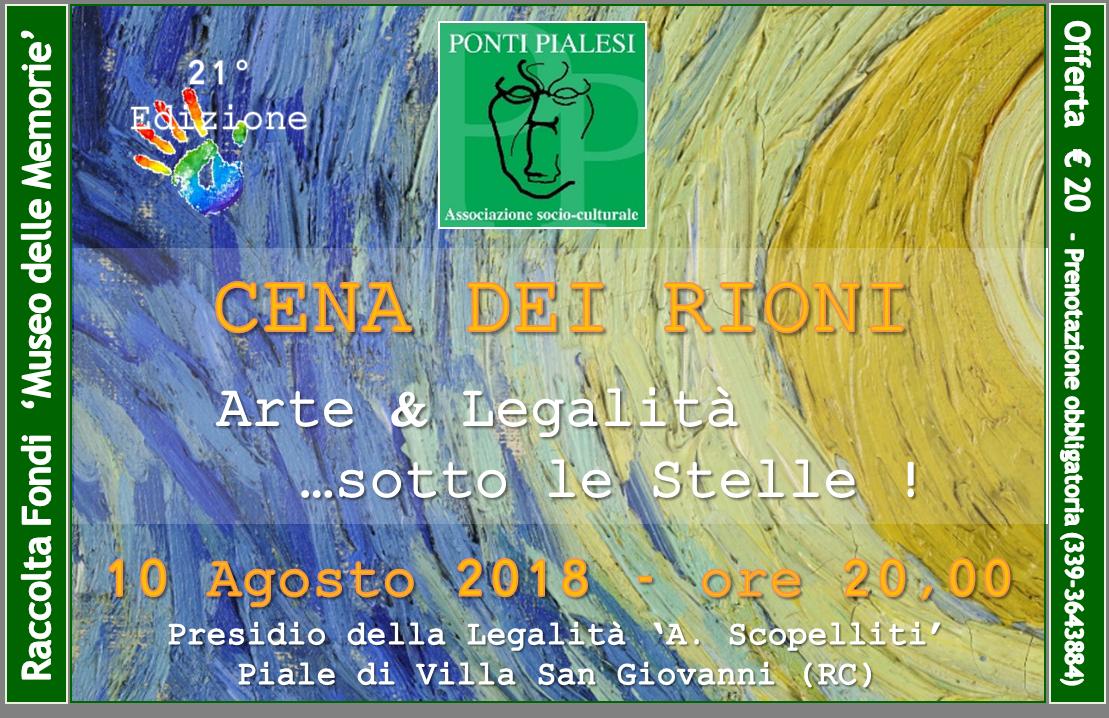 Ponti Pialesi - Cena dei Rioni 2018