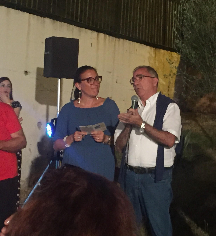 Ponti-Pialesi - 21a Edizione Cena dei Rioni 2018- Arte e Legalità... Sotto Le Stelle! - La giornalista Giusy Caminiti per l'intervento di Mimmo Nasone (Libera)