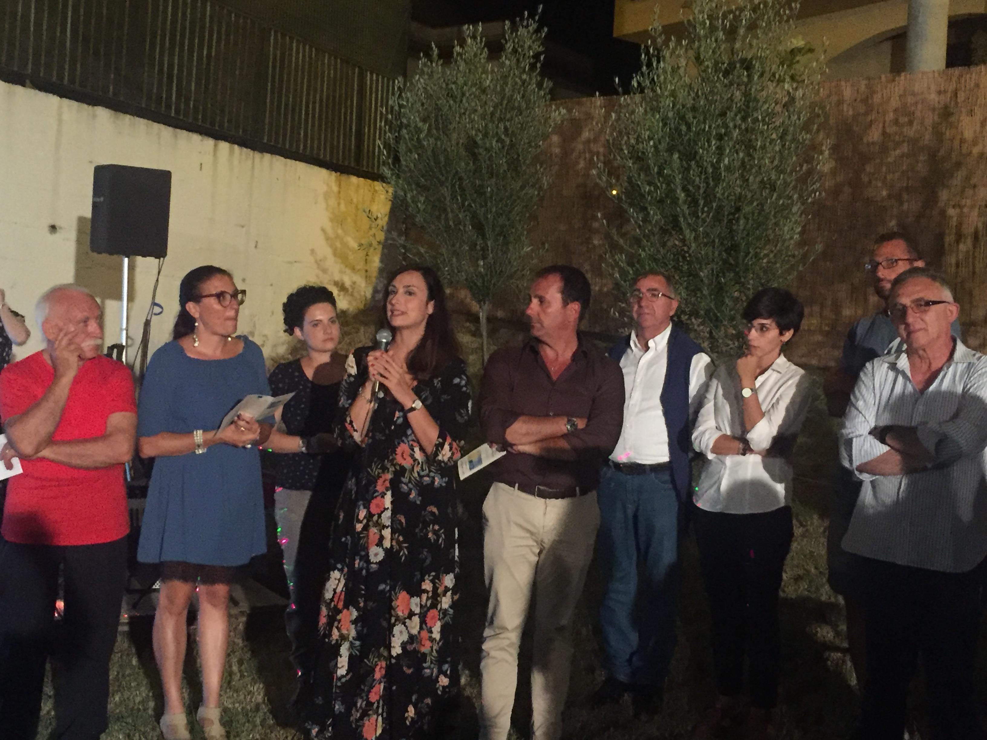 Ponti-Pialesi - 21a Edizione Cena dei Rioni 2018- Arte e Legalità... Sotto Le Stelle! - Intervento di Rosanna Scopelliti