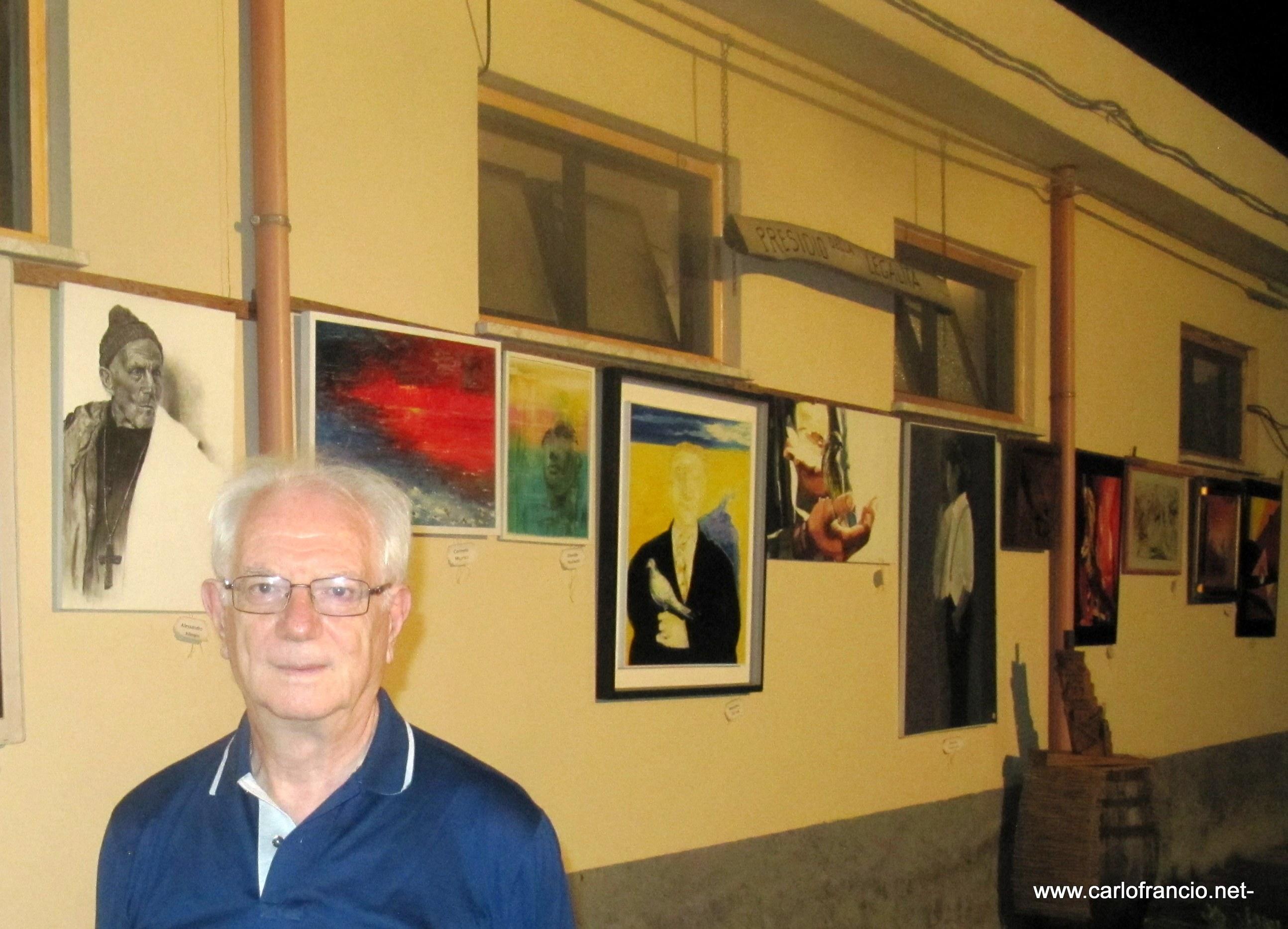 Ponti-Pialesi - 21a Edizione Cena dei Rioni 2018- Arte e Legalità... Sotto Le Stelle! - Carlo Franciò il nostro immancabile amico messinese