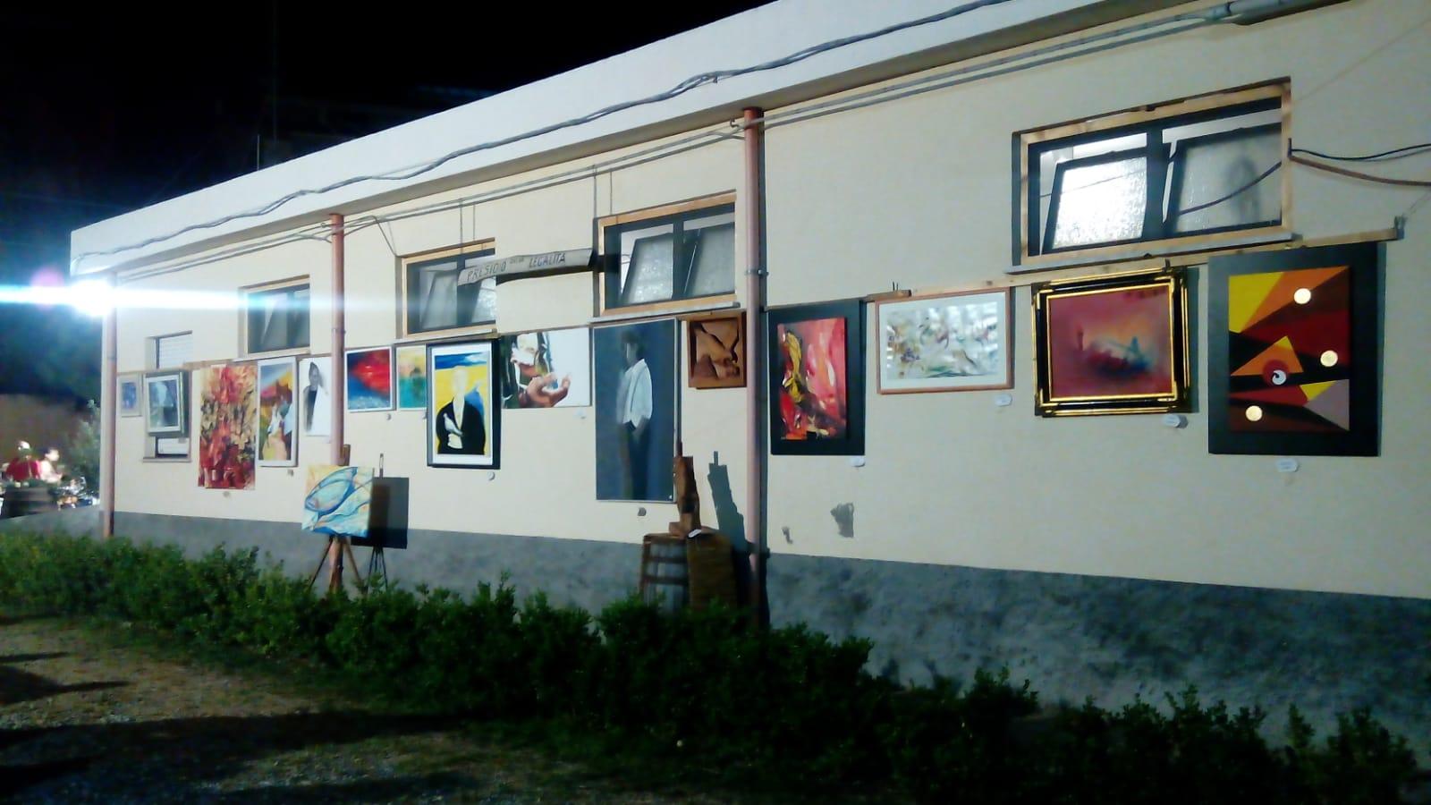 Ponti-Pialesi - 21a Edizione Cena dei Rioni 2018- Arte e Legalità... Sotto Le Stelle!  - Mostra Artistica