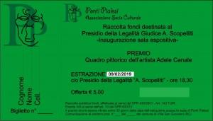 Ponti Pialesi - Sorteggio per Raccolta fondi Museo delle Memorie