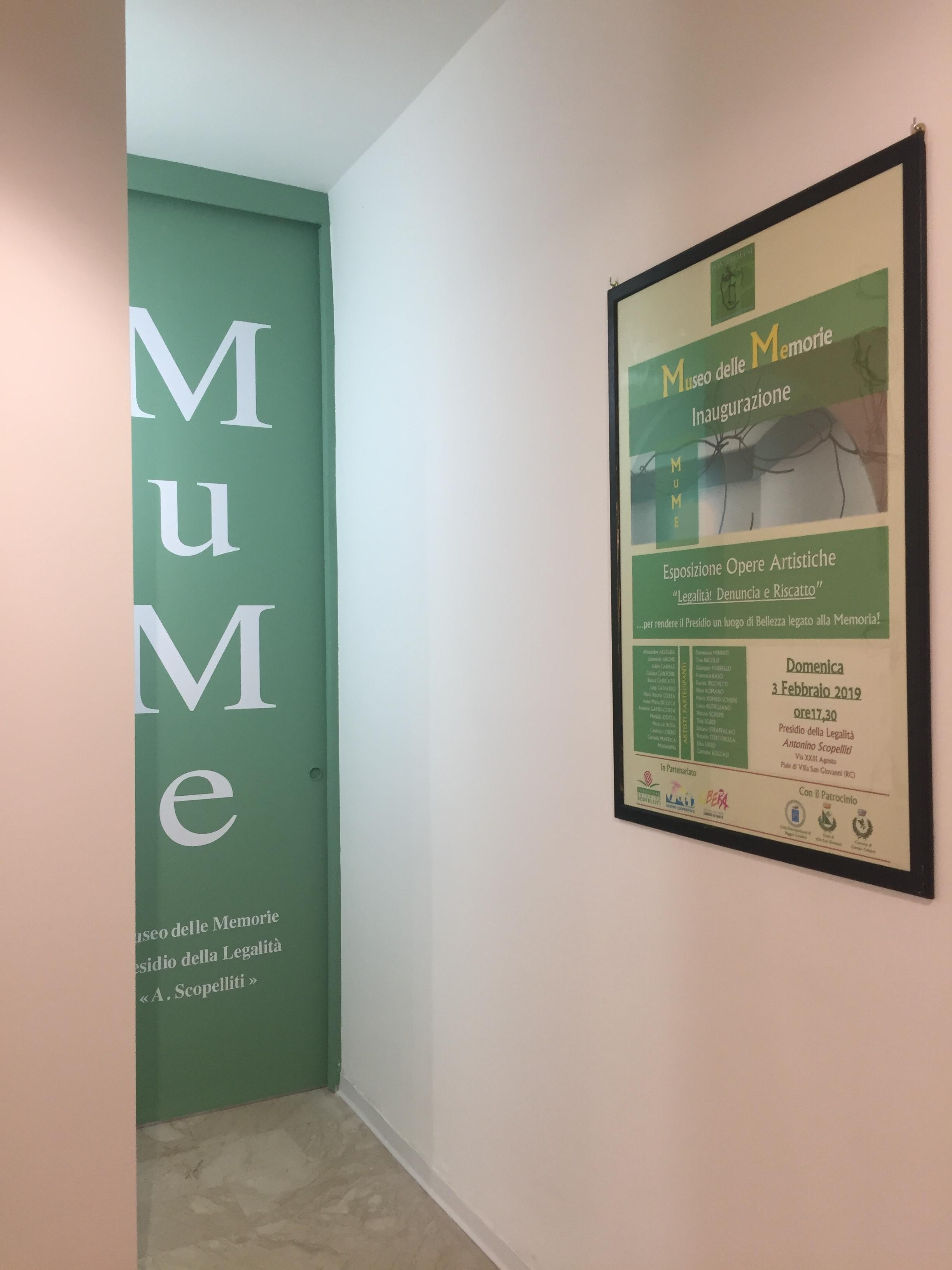 PONTI PIALESI - Inaugurazione MuMe - Museo delle Memorie