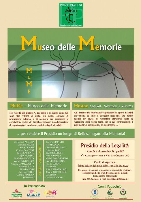 PONTI PIALESI - MuMe Museo delle Memorie